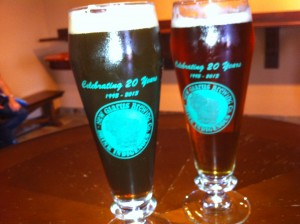 New Glarus Brewing Glasses